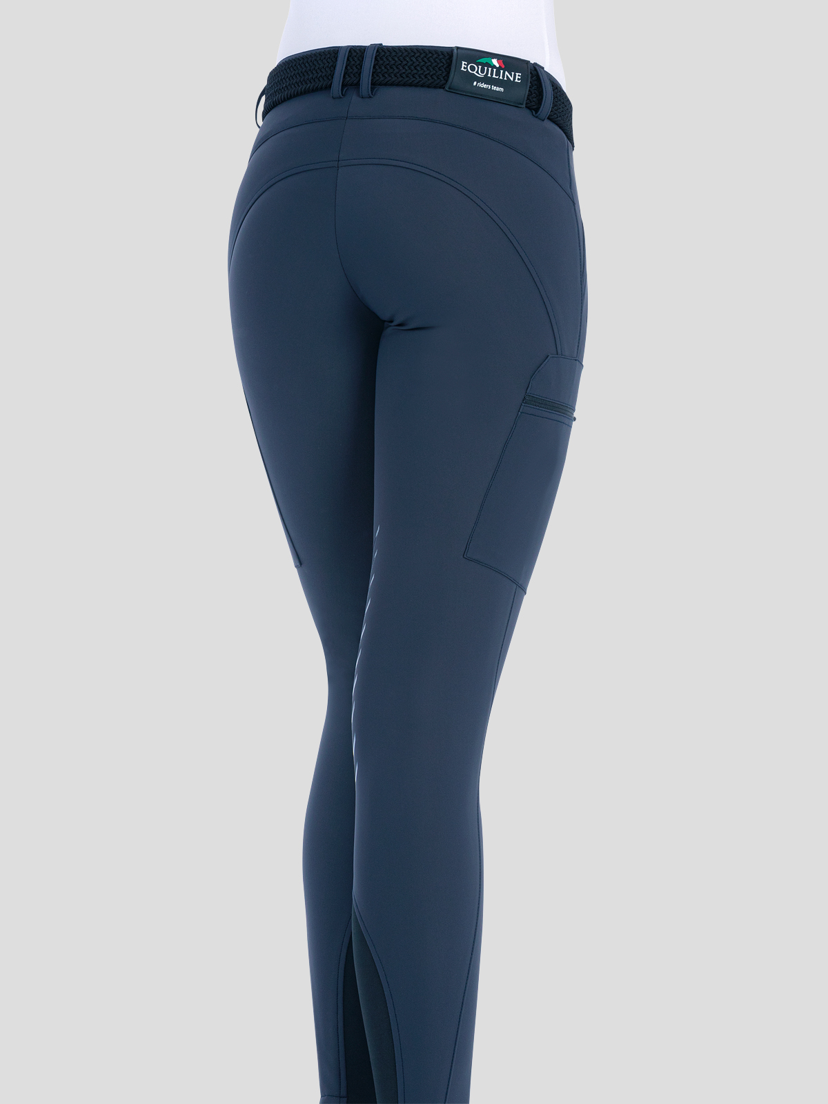ChantalC Women's Cargo Breeches with Knee Grip in B-Move 2