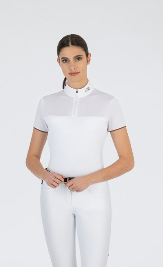 CORDA C WOMEN'S SHOW SHIRT WITH SHORT SLEEVES AND ZIP