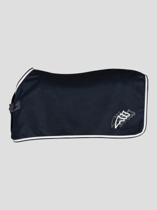 CUDE C MICROFLEECE HORSE COOLER WITH PRINTED GRAPHIC LOGO