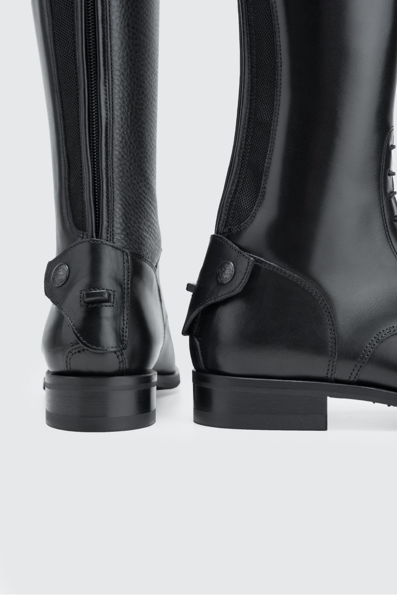 CLASSIC   Laced Top Trim, LEG GRIP - 800 / Men - Smooth Black
