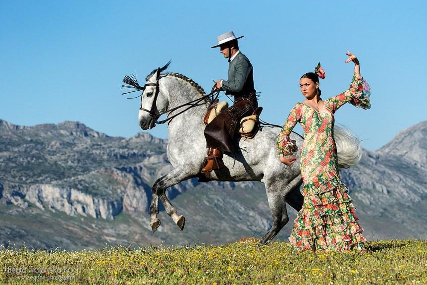 Flamenco i doma vaquera