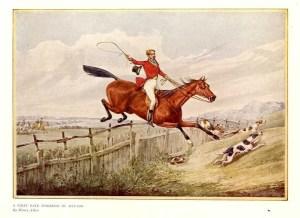 Foxhunting print