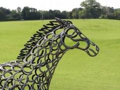 Tom Hill sculpture of a horse