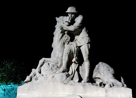 War Horse Memorial Chipilly, France