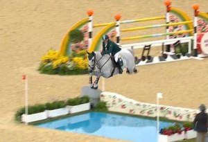 Saudia Arabia takes the lead in Olympic Show Jumping