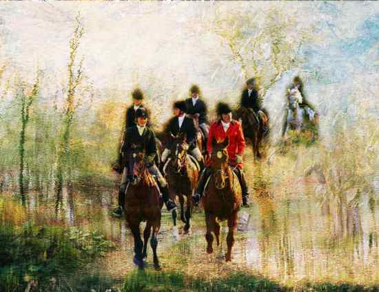 Foxhunting in Concord