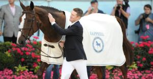 McLain Ward's mare Sapphire died today from complications from colic.
