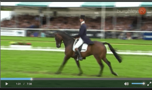 William Fox-Pitt and Fernhill Pimms are tied for first place going into XC at Burghley.