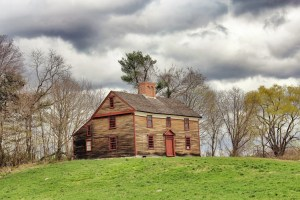 The William Smith house, located on Battle Road in the Minute Man National Park, was lived in continuously until the 1970s when it was purchased by the park. It was recently restored and is now open to the public as a museum.
