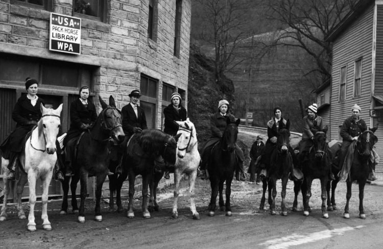 Pack horse librarians ready to ride out