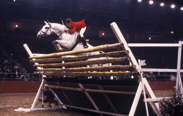 "Nick Skelton's high Jump Record 7'10"" (2metres 32) in 1979"