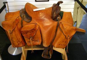 Pony express saddle