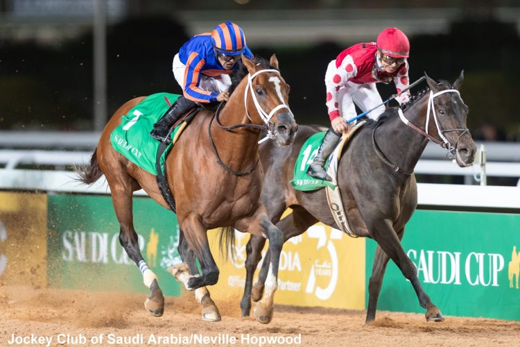 Purse held for Saudi Cup pending investigation