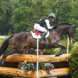 Caroline Powell riding On The Brash. Photo by Lorraine Porter l
