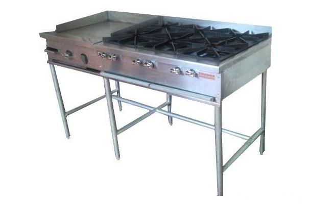Plancha acero inoxidable cocina elegant acero inoxidable - Cocinas con plancha incorporada ...