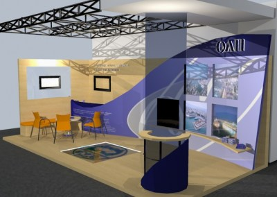 Port Authority exhibition booth