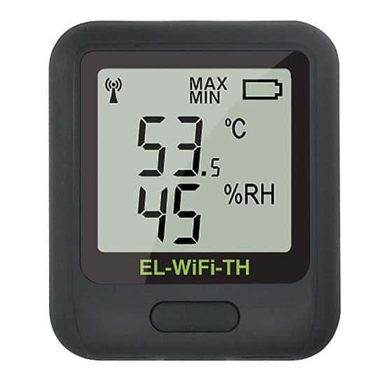Registrador de Temperatura y Humedad Extech RH520A, con Sonda Desmontable Image