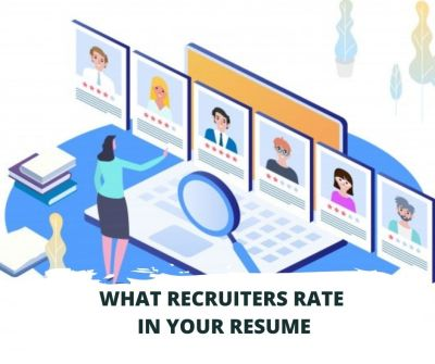 what recruiters rate in your cv