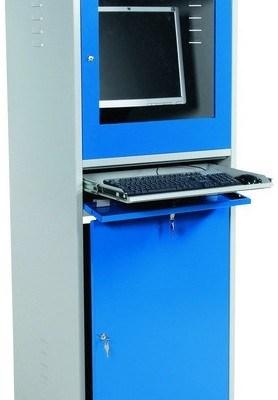 Armoire à ordinateur d'atelier