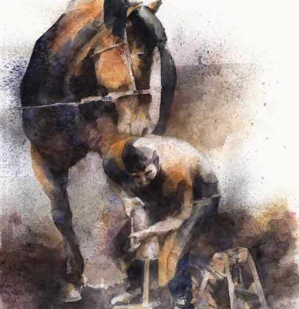 farrier painting