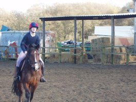 Own Photo. My early days at riding school.