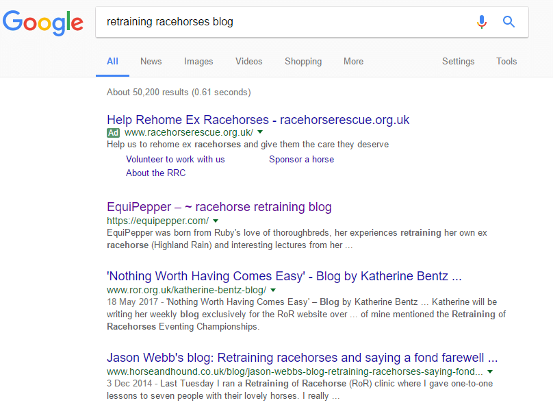 search example