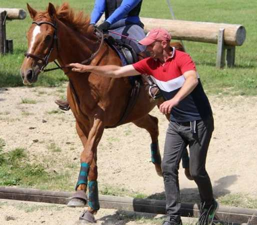 jumping nerves, riding instructor