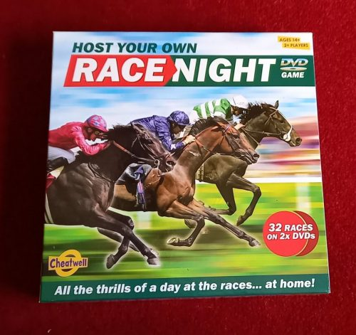 horse themed board game host a race night