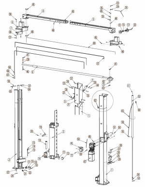 Rotary Revolution RTP10 Parts Diagram CURRENT PRODUCTION