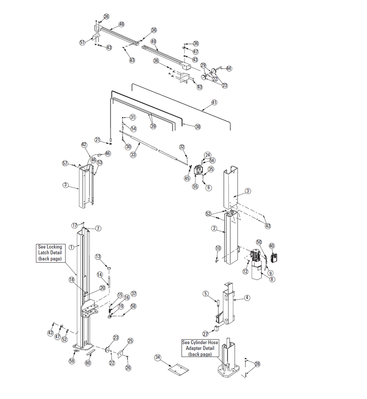 Rotary Spoa10 500 Parts Diagram