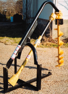 3 Point Economy Digger for Farm Tractors 30 HP gearbox AGM EC044