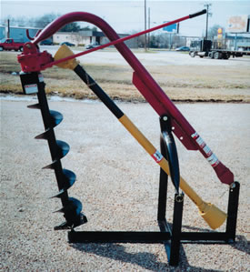 3 Point Hitch Hole Digger 44  inch deep for Cat 1 Tractor AGM ED44