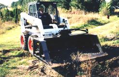 topsoil screener for skid steer