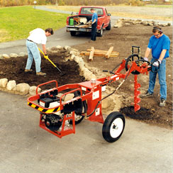 Dig R Mobile Tow Behind One Man Hole Digger GEN-660-H