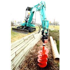 Dig R Tach Hydraulic Hole Digger GEN M471-12