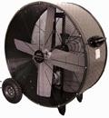 """Portable Galvanized Belt Drive Heavy Duty Industrial Fan; 42"""" - PHP-PT42BDF"""