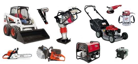 lawn equipment machines