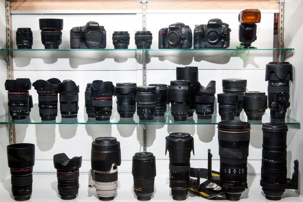 camera and lens equipment rental