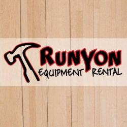 """runyon equipment rentals rental"""