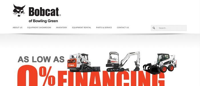 construction equipment rental kentucky bobcat