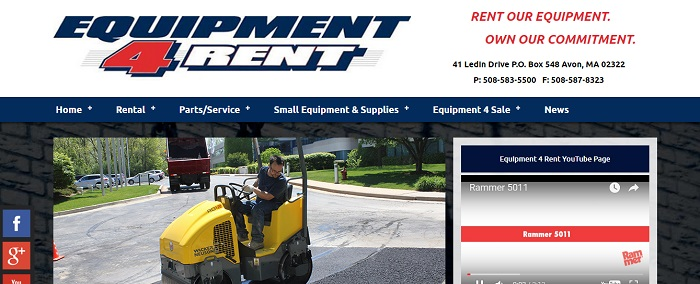 construction equipment rental massachusetts equipment for rent