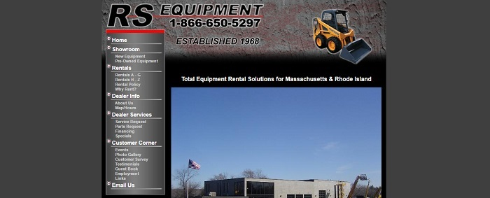 construction equipment rental massachusetts rs equipment
