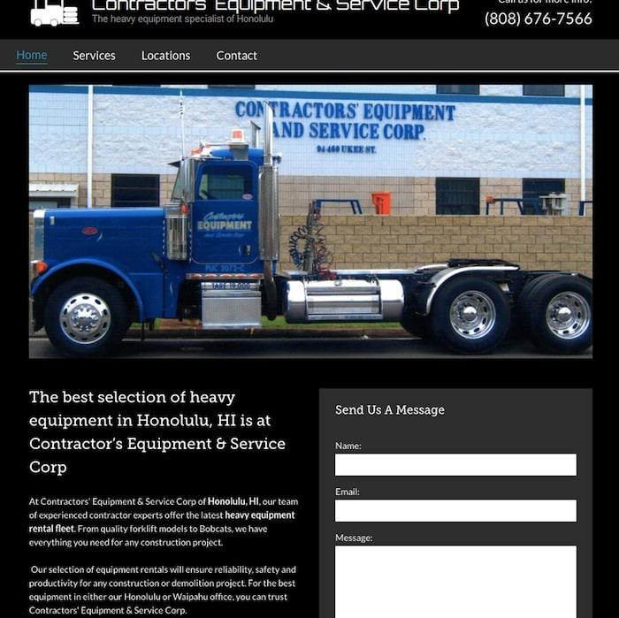 contractors equipment and service corp website
