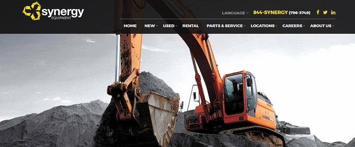 construction equipment rental florida synergy
