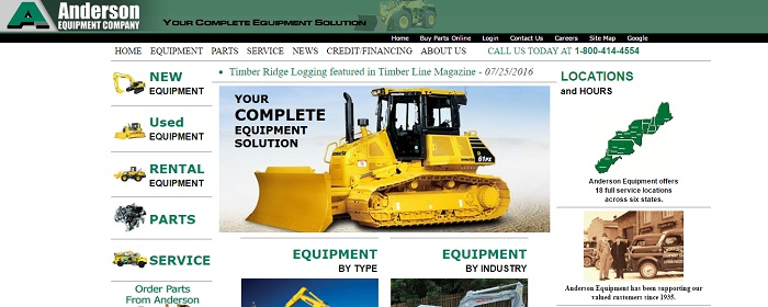 Construction Equipment Rental New Hampshire