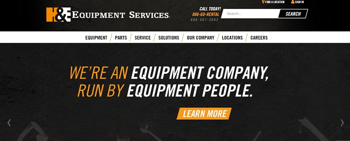construction equipment rental Nevada
