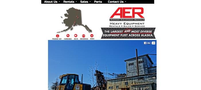 construction equipment rental alaska