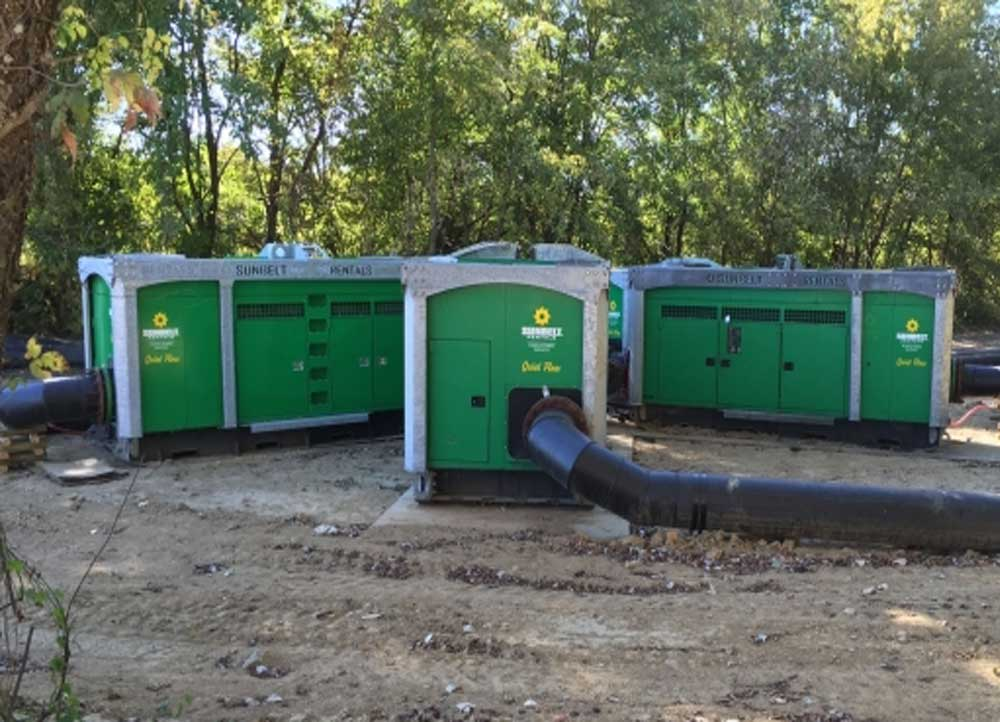 sunbelt pumps and trench shoring
