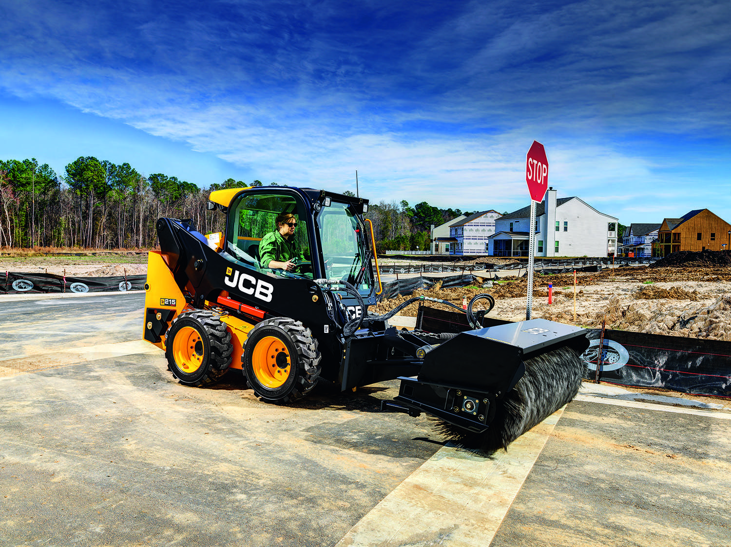 JCB Boosts Horsepower 20% With 210 And 215 Skid Steers