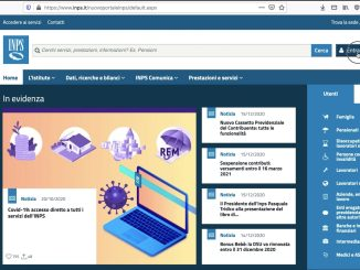 accesso inps con poste id - home page inps
